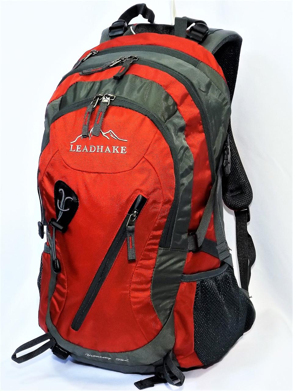 Рюкзак туристический  Leadhake S1004  (38 литров) красный