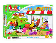 "Конструктор JDLT 5222 (аналог Lego Duplo) ""Супермаркет"" 68 дет , фото 1"