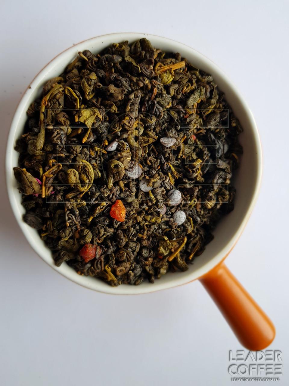 """Чай зеленый с кусочками вишни и шоколада """"Вишня в шоколаде"""", 1кг"""