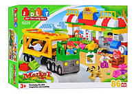 "Конструктор JDLT 5225 (аналог Lego Duplo) ""Супермаркет"" 86 дет , фото 1"