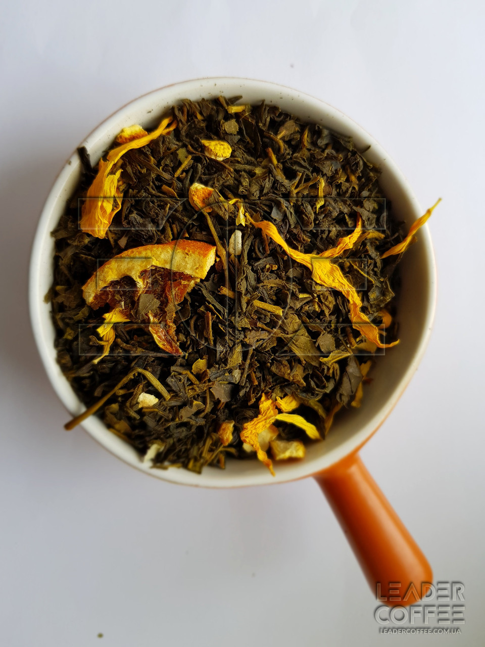 Чай зеленый с лимоном, 1кг