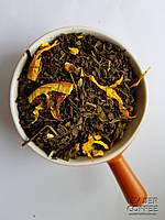 Чай зеленый с кусочками лимона и манго, 1кг