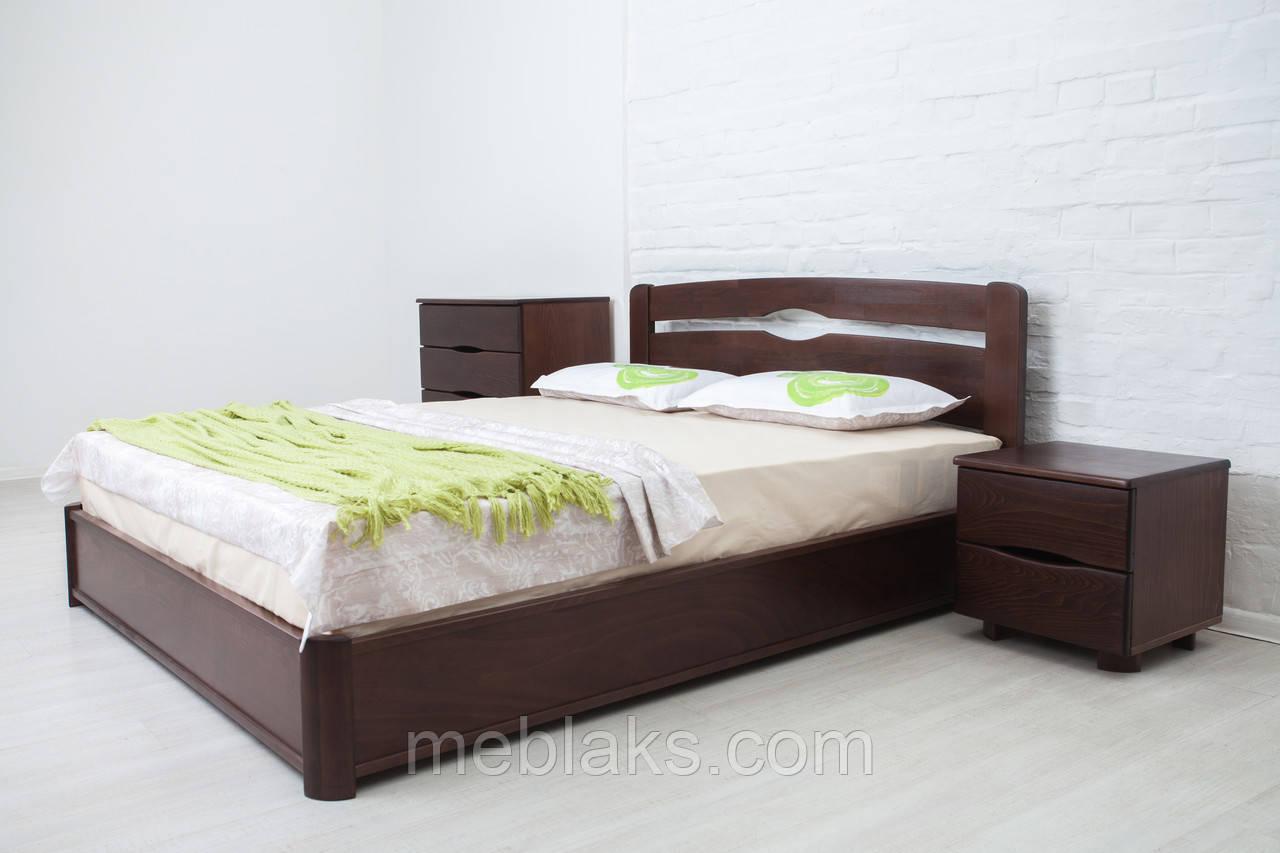 """Кровать деревянная """"Каролина"""" c подъемным механизмом (серия Мария)  Микс Мебель"""