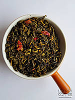 Чай зеленый ароматизированный с кусочками личи, 1кг