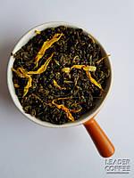 Чай зеленая улитка с кусочками Дыни и цукатами, 1кг