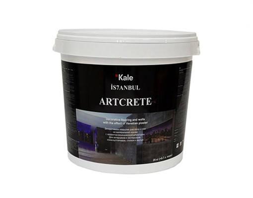 Высокопрочное турецкое покрытие Kale Artcrete Micro CEMENT