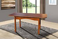 Стол обеденный раскладной Оксфорд 1200(+400)х800х750 (коньячный)