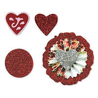 Ножи Sizzix Set 3PK - Accordion Fold Flowers Set # 2 , 657401