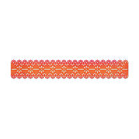 Нож для вырубки Sizzix - Scallop Eyelet Lace , 658003