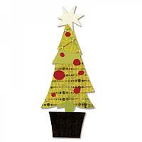 Нож для вырубки Sizzix - Tree , Christmas Layered , 657249