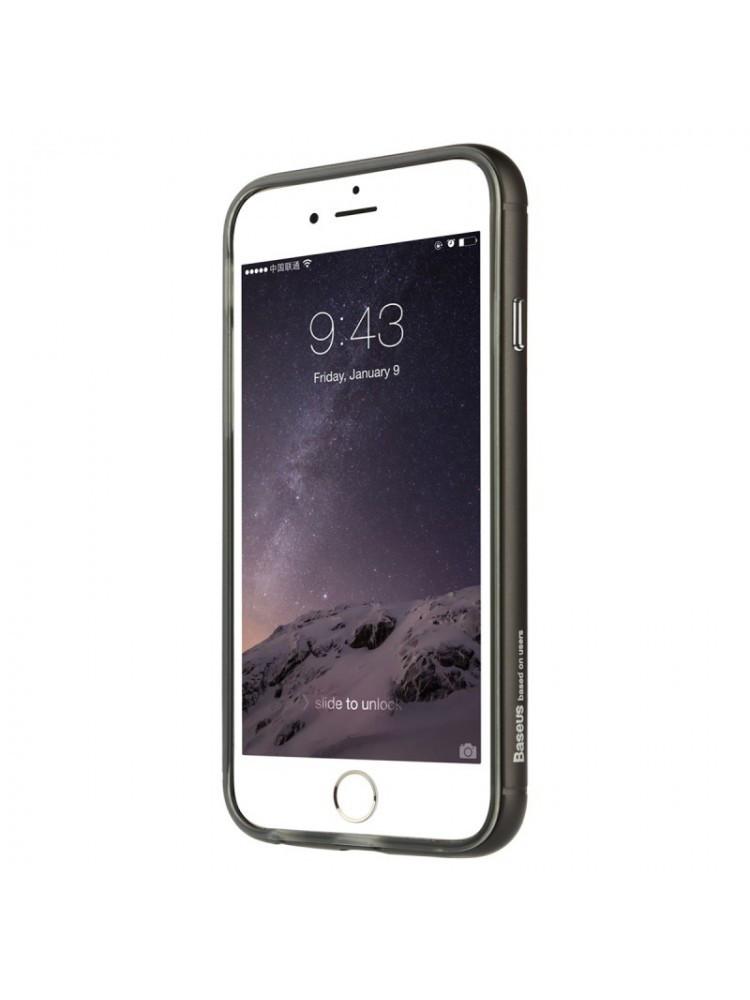 Бампер с силиконовым чехлом для iphone для iphone 6 plus / 6s plus золотой