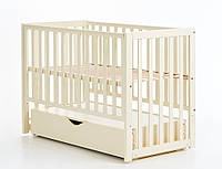 Детская кроватка Верес ЛД13 маятник/ящик слоновая кость