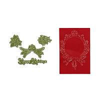 Ножи для вырубки + папки Sizzix 4PK - Ornament Set # 2 , 657976