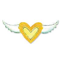 Ножи Sizzix Die Set 2PK - Heart & Wing Set , 657793
