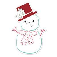 Ножи + штампы Sizzix 6PKs - Snowman # 2 , 658278