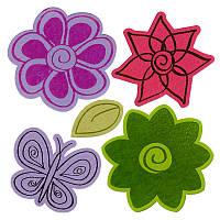 Ножи + штампы Sizzix 5PKs - Flowers # 4 , 658208