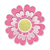 Ножи + штампы Sizzix 7PKs - Flowers , Lovely , 658291