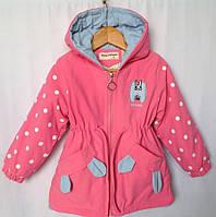 Детская куртка демисезонная для девочки оптом 1-5 лет 17