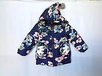 Демисезонная куртка для девочки 3- 6 лет Розница +80гр, фото 1