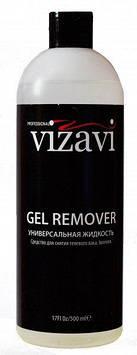Жидкость для снятия гель-лака и акрила Vizavi Professional 500мл