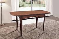 Стол обеденный раскладной Челси 1080(+320)х730х750 (орех темный)