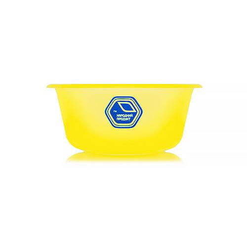 Миска 0,7 л жовта (арт. 86ж)