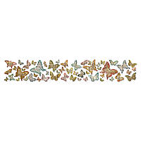 Нож для высечки Sizzix Sizzlits Decorative Strip Die - Butterfly Frenzy , 659575