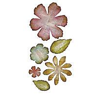 Нож для высечки Sizzix Bigz XL Die - Jumbo Tattered Floralss, 659441