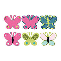 Ножи для высечки Sizzix Triplits Die Set 13PK - Butterfly, 659596