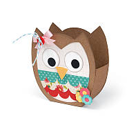 Нож для высечки Sizzix Bigz XL Die - Bag, Owl, 659720