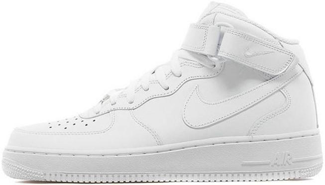 1b6b28dfb032 Кроссовки Nike Air Force 1 Premium High All White - City-Sport - интернет  магазин