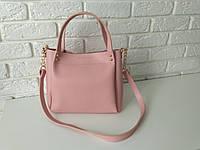"""Стильная женскаяповседневная сумка """"Michael Kors Аманда2 Pink 2"""", фото 1"""