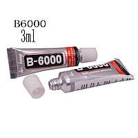 Клей-герметик B6000, 3 мл, для приклеивания тачскрина, дисплея