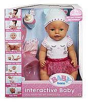 Интерактивная Кукла пупс Беби Борн - Baby Born Green Eyes Interactive Doll