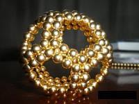 Игрушка NEOCUBE GOLD, неокуб золотой