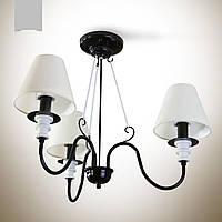 Люстра 3-х ламповая для спальни  12333-3
