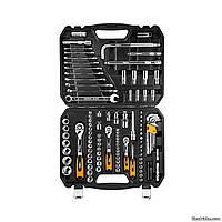 """Набір ключів і головок торцевих NEO Tools 1/4"""", 3/8"""", 1/2"""" Cr-V 126 шт (08-667)"""