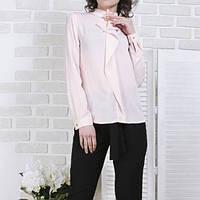 Блуза с жабо TK-271531