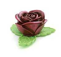 Шоколадный подарок любимой девушке. Шоколадная роза, фото 1