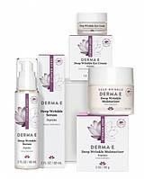 Программа по уходу: «Пептиды от глубоких морщин 45+» Derma E (США)