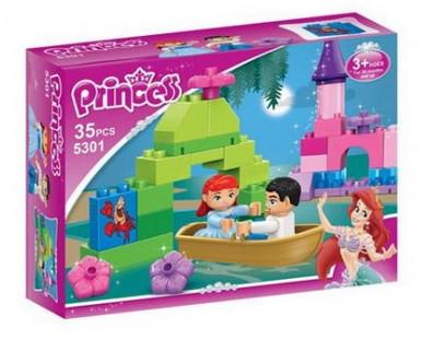 Детский конструктор JDLT 5301 Принцессы, 35 дет