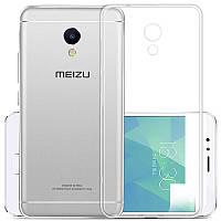 Защитный чехол - бампер для Meizu Meilan 5s (KOOLIFE) из прозрачного силикона, фото 1