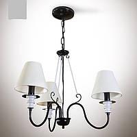 Люстра 3-х ламповая для спальни  12333-2