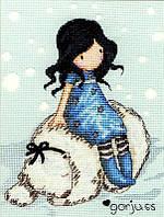 Набор для вышивания Bothy Threads XG8 Gorjuss Winter Friend