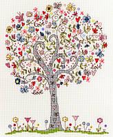 """Набор для вышивания Love Tree, """"Дерево любви"""", XKA2"""