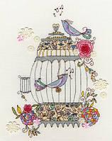 """Набор для вышивания Love Birds """"Влюбленные птички"""", XKA3"""