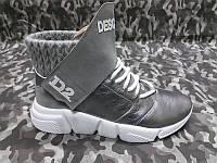 9f43eee3 Женские ботинки-кроссовки Dsquared осенние кожаные Uk0100 36