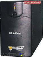 UPS-500HC FORTисточник бесперебойного питания мощн. 500ВА, вх напряжение 165-270 В, выход 230 В, аккумул. 12 В