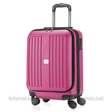 Валізу на коліщатках Hauptstadtkoffer Xberg Mini рожевий матовий