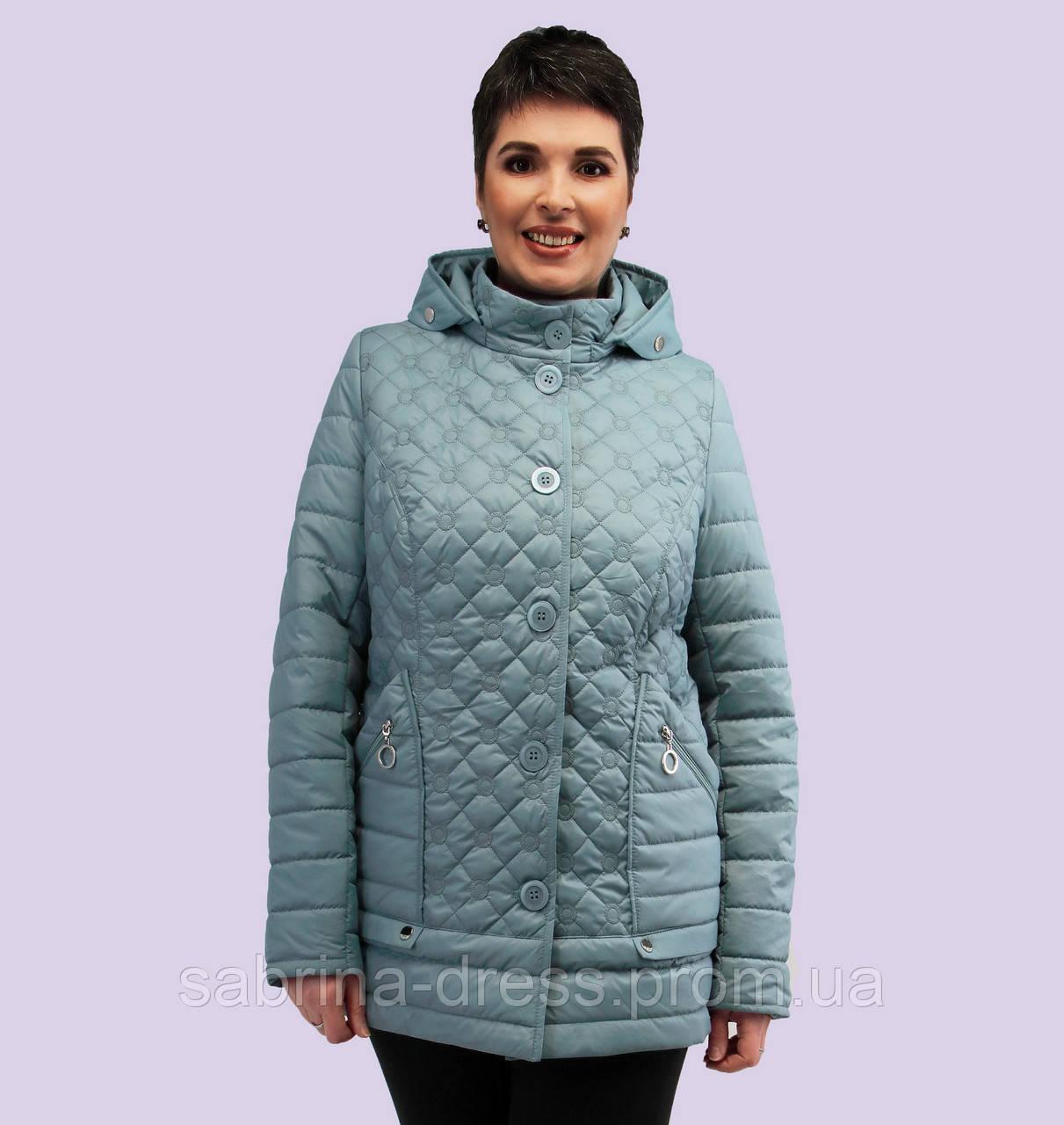 5d502ce592e Женская Демисезонная Куртка. Модель 159. Размеры 54-60 — в Категории ...